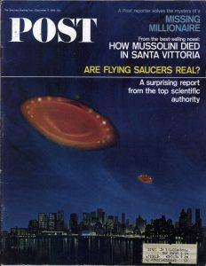 Couverture du numéro du Saturday Evening Post contenant un article de J. Allen Hynek.
